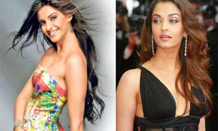 aishwarya rai sonam to walk cannes red carpet