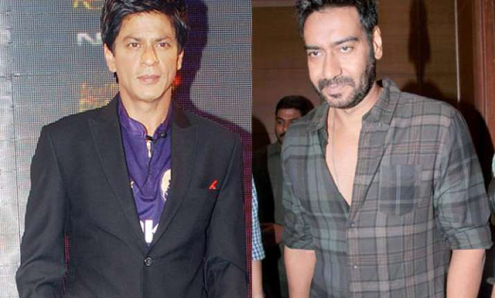 ajay devgn over the cold war with shah rukh khan