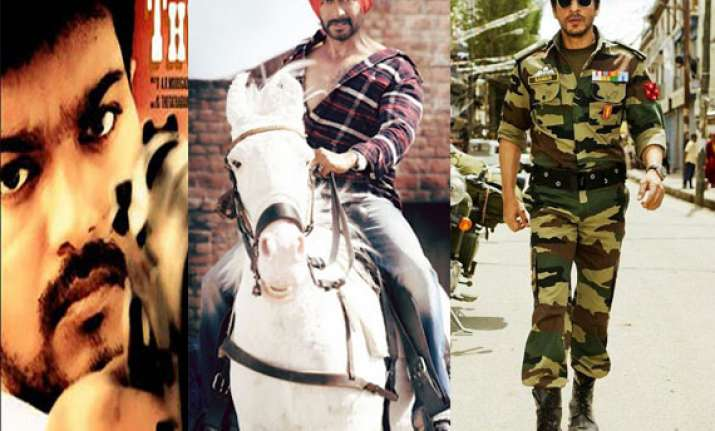 ajay vijay and srk set for big fight on diwali day