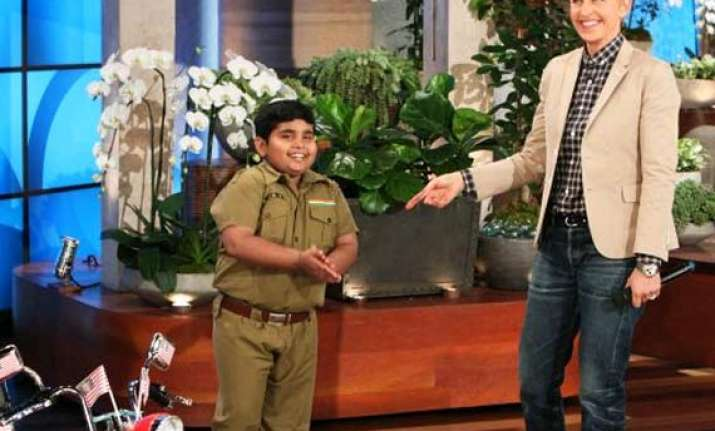 akshat singh on ellen degeneres she wanted to know about