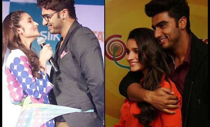 omg alia bhatt confesses that she isn t dating arjun kapoor