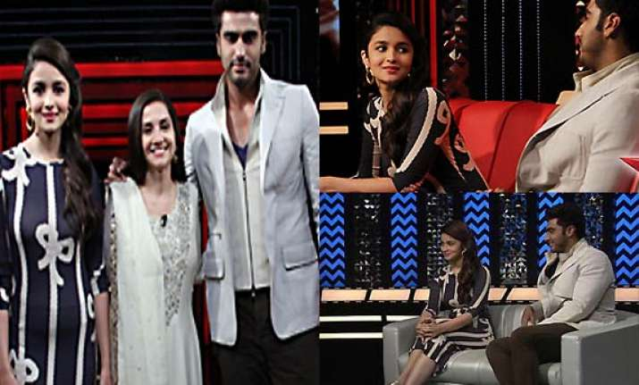 love birds alia bhatt arjun kapoor maintained distance on