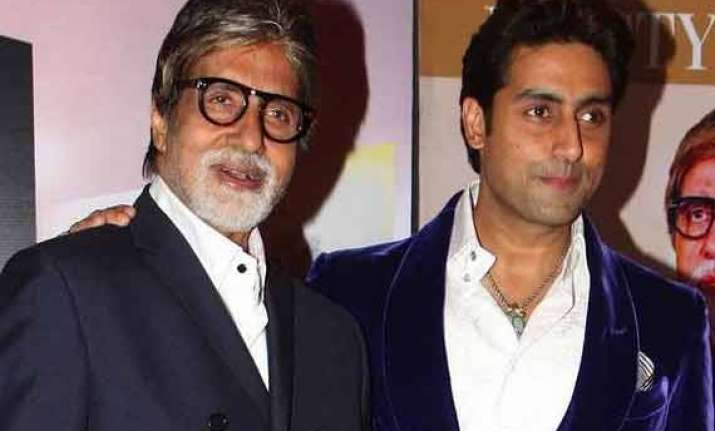 amitabh bachchan gets emotional on abhishek s 38 birthday