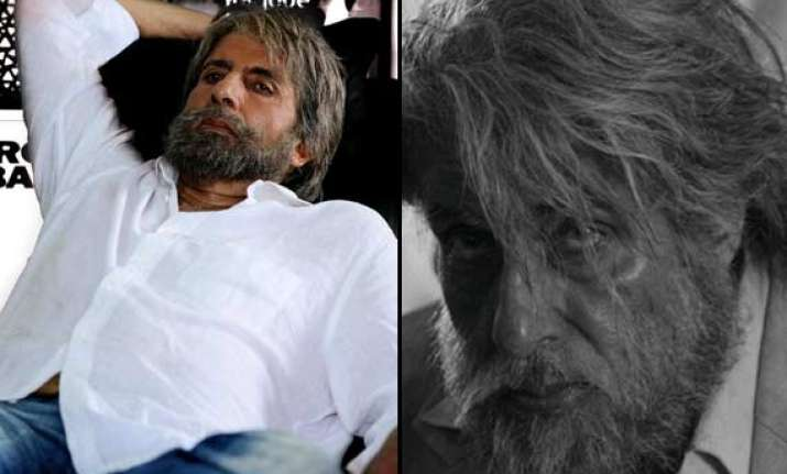 amitabh bachchan s shamitabh first look out view pics