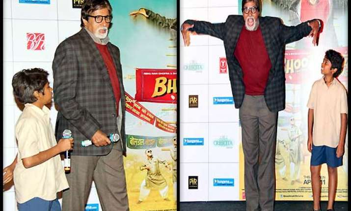 amitabh bachchan unveils bhootnath returns trailer see pics