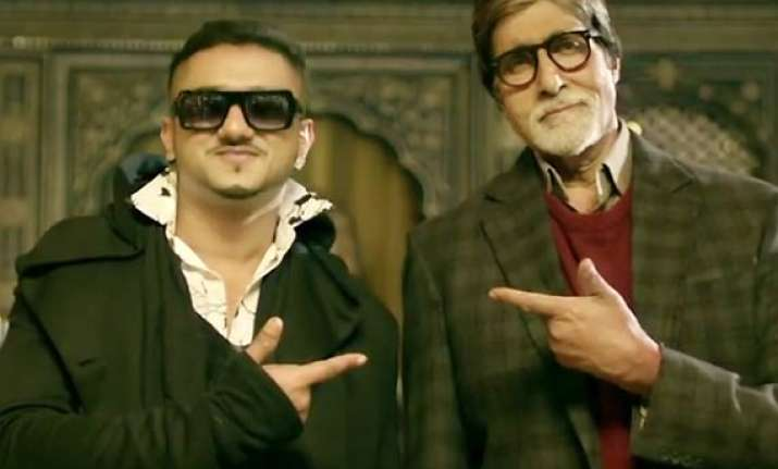 here s why big b agree to rap for party with bhoothnath