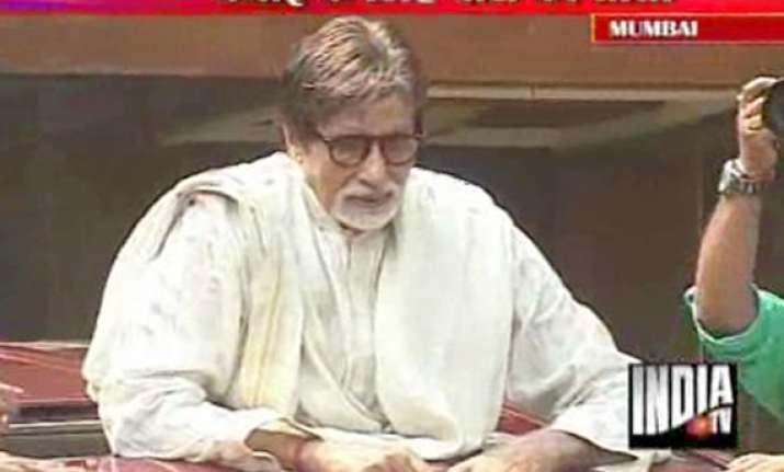amitabh bachchan celebrates 69th birthday says still