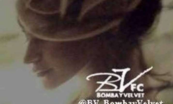 anushka sharma s first look in bombay velvet out view pics
