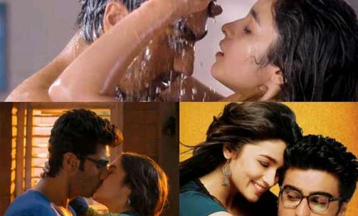 arjun kapoor with so many kissing scenes i will soon