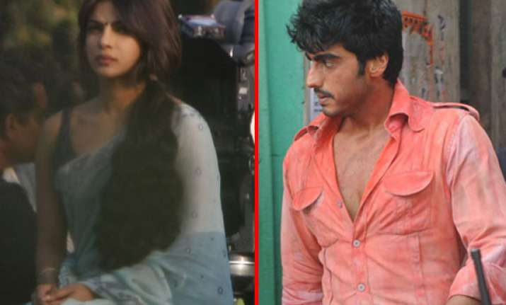priyanka arjun s first look in gunday out