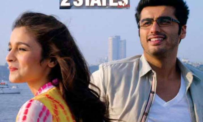 arjun kapoor and alia bhatt unveil 2 states trailer watch