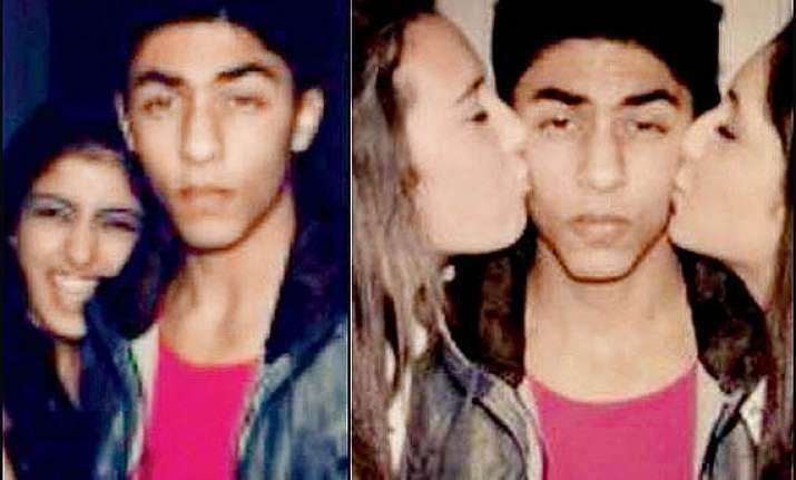 omg srk s son aryan and amitabh bachchan s granddaughter