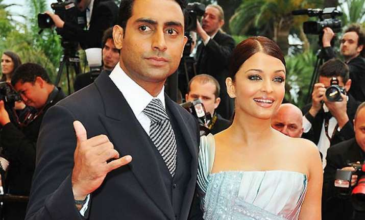 cannes film festival 2014 abhishek and aishwarya to dazzle
