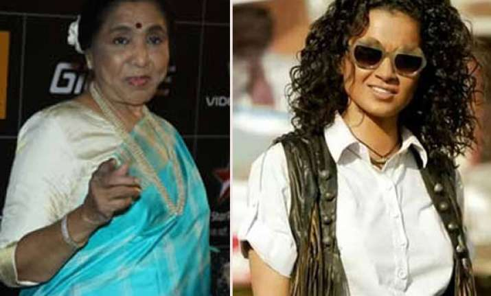 asha bhosle s lucky connection with kangana ranaut