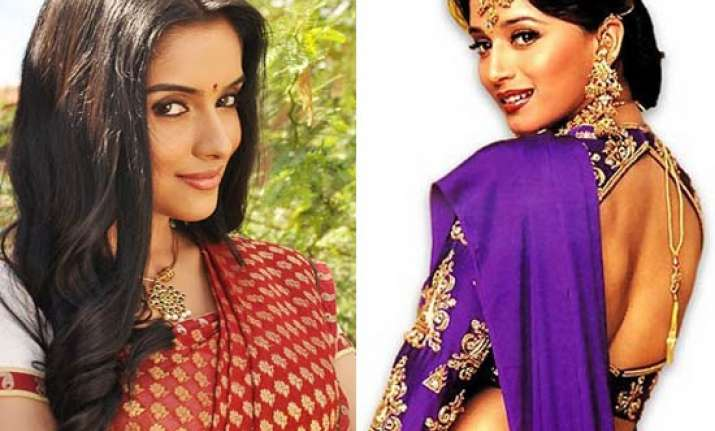 asin inspired by madhuri s hahk for her film ready