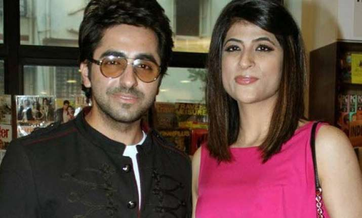 ayushmann khurrana blessed with a baby girl