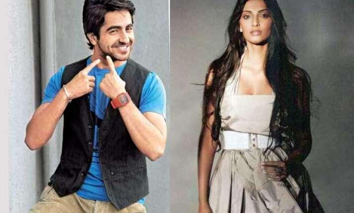 ayushmann khurrana sonam kapoor star in next yash raj film