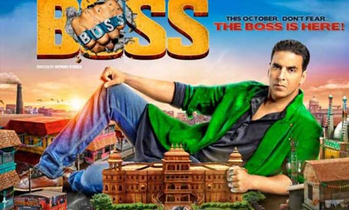 boss movie review entertains in parts