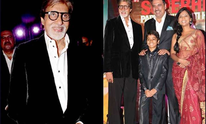 amitabh bachchan celebrates the success of bhootnath