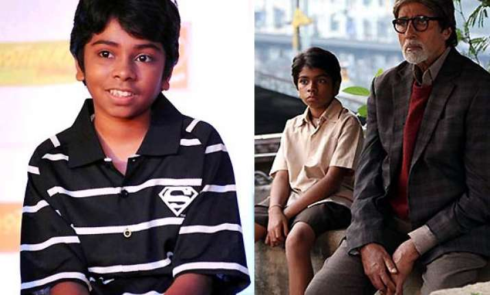 amitabh bachchan feels child actor parth is hero of