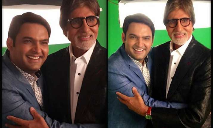 it s confirmed big b to celebrate kapil sharma s birthday