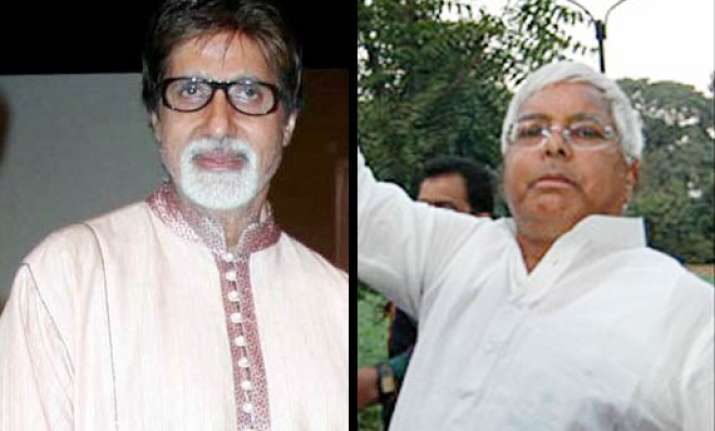 big b is an actor i like the least says lalu