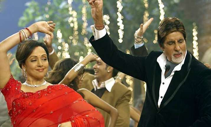 big b records medley of his film songs in own voice