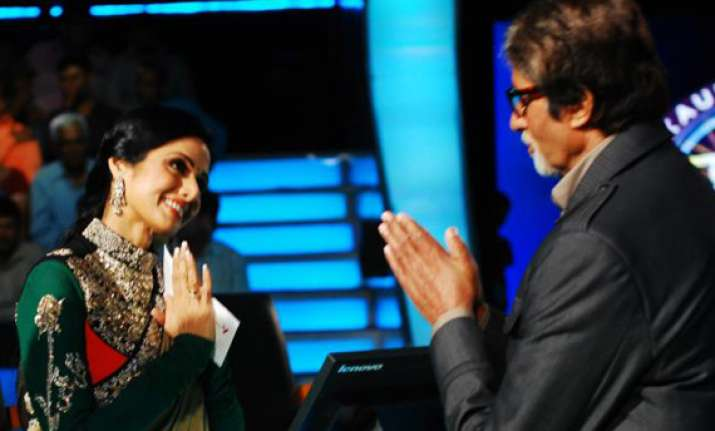 big b sridevi voted most admired bollywood actors in mobile