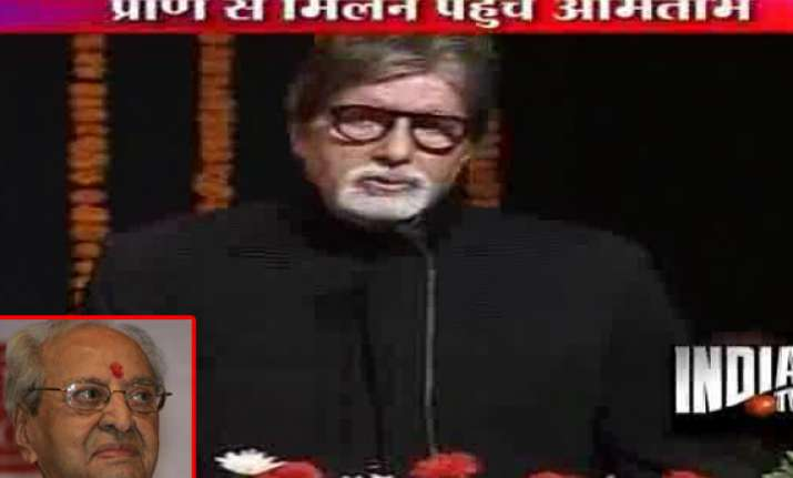 big b prays for pran s speedy recovery