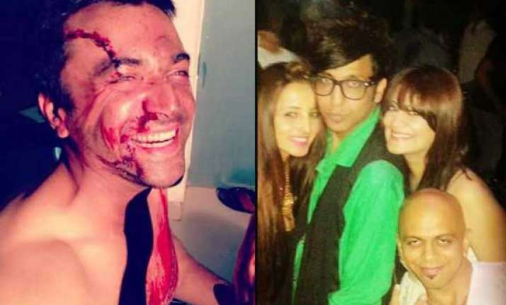 bigg boss 7 new inmates candy brar and azaz khan s unseen