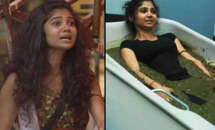 bigg boss 7 ratan rajput eliminated from the house view pics