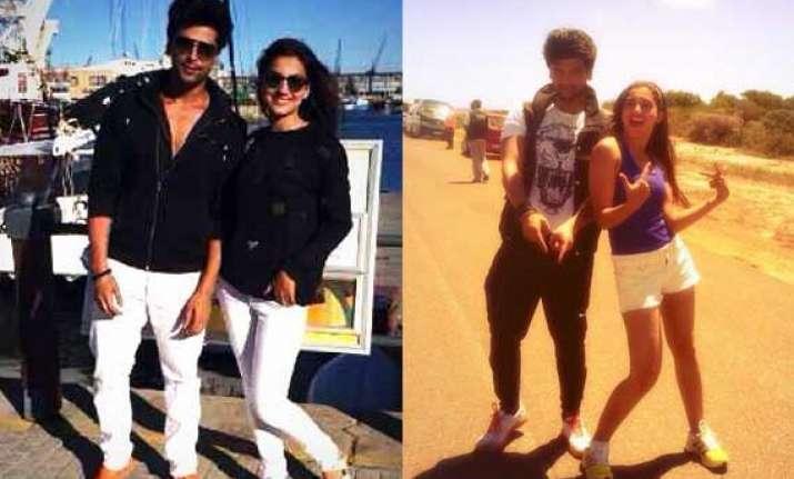 bigg boss 7 couple kushal and gauhar on honeymoon in cape