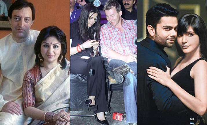 sharmila tagore pataudi to shruti haasan suresh raina