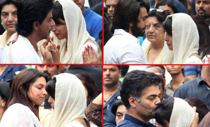 bollywood biggies attend priyanka chopra s father s funeral