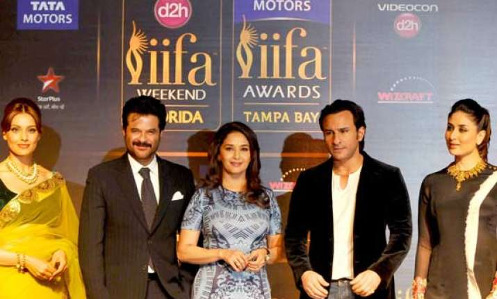 bollywood celebs come together to launch iifa 2014 see pics