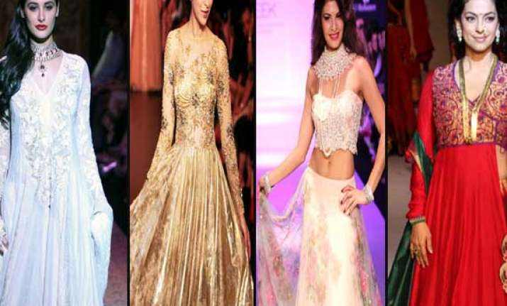 bollywood showstoppers at the lakme fashion week