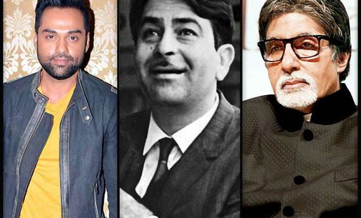 abhay deol raj kapoor amitabh bachchan bollywood celebs who