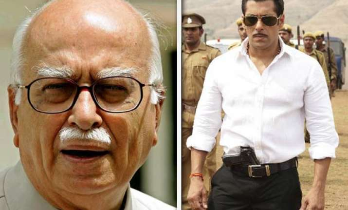 bollywood is spreading hindi across the country says advani