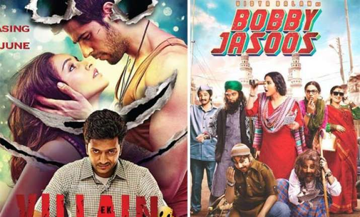 box office report ek villain dominates bobby jasoos and