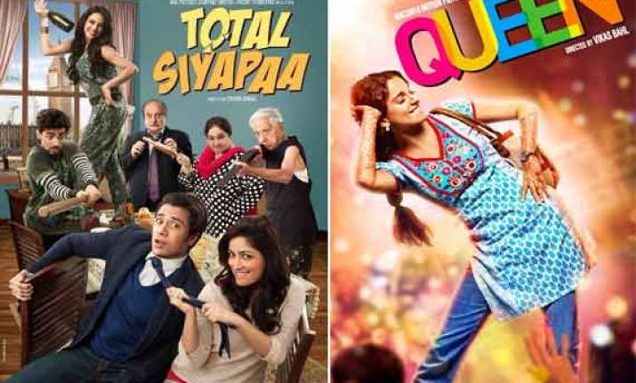 box office report loses in india total siyapaa beats queen