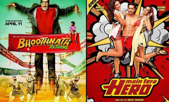box office report bhoothnath returns grows main tera hero