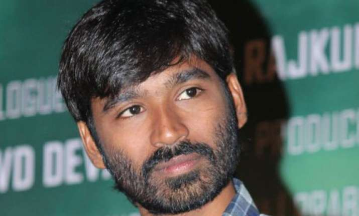 camera rolls for dhanush s second production venture