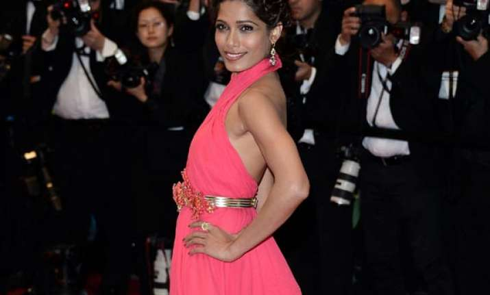 cannes film fest red carpet most organised frieda pinto