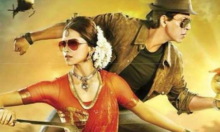chennai express scores high as movie on demand