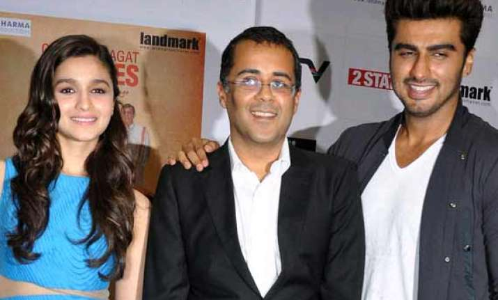 chetan bhagat considering sequel to his book 2 states