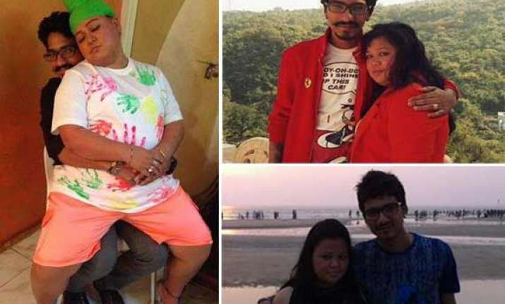 comedian bharti and her rumoured fiance comedy circus