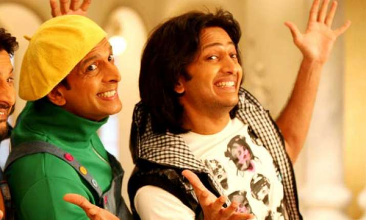 comedy films are lucky for riteish