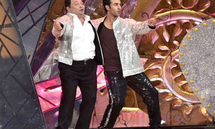 dad is still passionate about doing films says ranbir