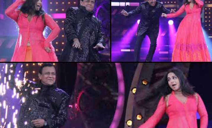 dance india dance 4 finale mithun da and vidya balan set