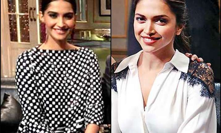 deepika hits back at sonam fashion for me is what suits my